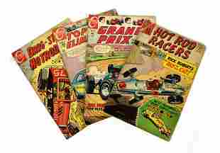 Vintage Comic Books Inc. Hot Rod Racers, Grand Prix