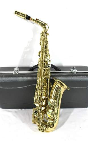 Simba Alto Saxophone in Case, Model AS-105