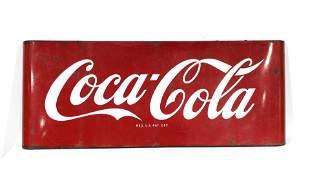 5FT Coca Cola Porcelain Sled Sign