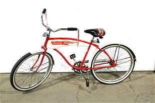 1980s Huffy Coca Cola Promo Beach Cruiser Bike