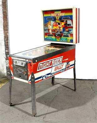 Bally Night Rider Pinball Machine