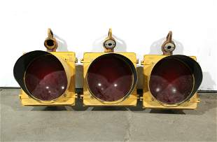 Single Row Metal Stoplights