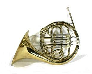 French Horn with Case