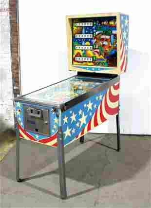 Playmatic New World Pinball Machine
