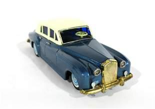 "Bandai Japan 12"" 1960s Rolls Royce Silver Cloud Toy Car"