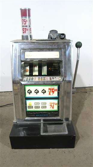 Aristocrat Coin Op 25 Cent Table Top Slot Machine