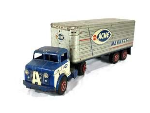 1950s Marx Lumar Acme Markets Truck