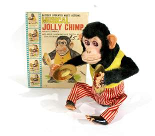 Musical Jolly Chimp with Box