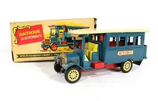 "Shioji & Co. Antique ""Autobus"" Friction Tin Toy"