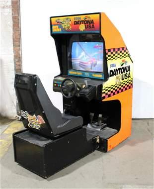 Sega Daytona USA Sit Down Driver Arcade Game
