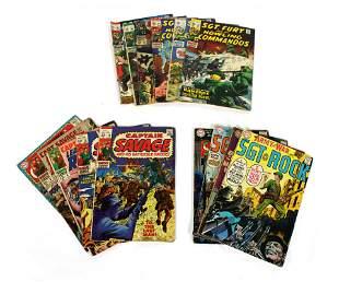 War Themed Comic Books Inc. Sgt. Fury