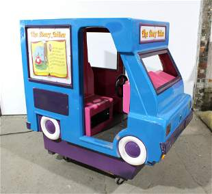 Story Teller Bus Coin Operated Kiddie Ride