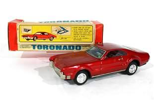 Bandai Toronado Battery-Operated Toy Car in Box