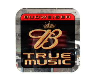 "Budweiser Beer ""True Music"" Mirror"