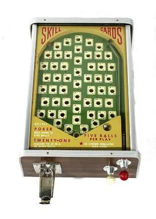 1936 A.B.T. Skill Card Trade Stimulator, NOS