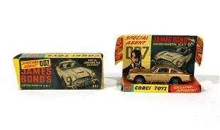 Corgi Toys James Bond 007 Aston Martin in Box