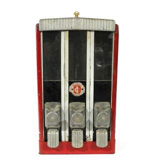 Belvend Coin Op Three Column Vendor, Model M-300
