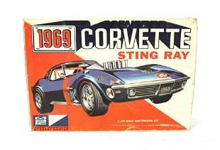 Corvette Sting Ray Scale Model in Box
