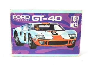 Ford GT-40 Scale Model in Box