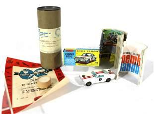 Corgi Toys Ford Mustang in Box w Handbook and Badge
