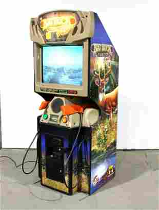 Raw Thrills Big Buck Hunter Pro Arcade Game