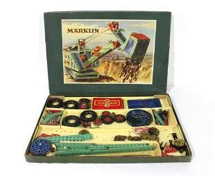 1930s Marklin Erector Construction Set Toy in Box