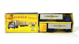 Matchbox Cars Cooper-Jarrett Major Pack in Box