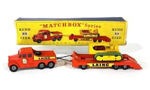 Matchbox Kingsize No.K8 Scammell Truck & Trailer