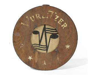 """1946 Wurlitzer """"Round Brown"""" Jukebox Speaker"""