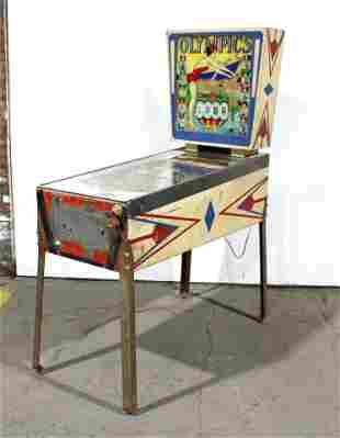 Gottlieb Olympics Wedgehead Pinball Machine