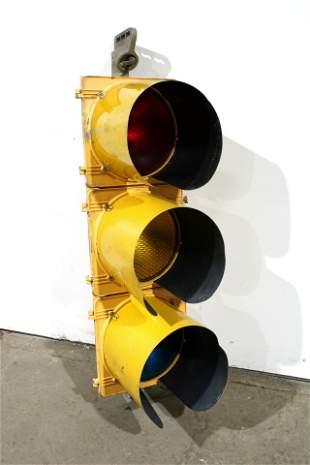 Metal Traffic Light