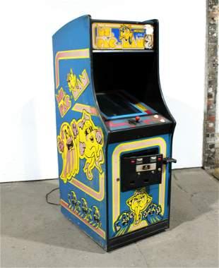 Midway Ms. Pac-Man Arcade Game