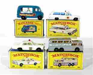 Matchbox Cars Incl. #54 Ambulance