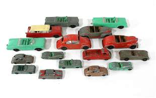 Tootsie Toy Cars including Corvette and VW Bug