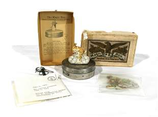 """1890s """"The Magic Box"""" Magentic Motion Toy"""