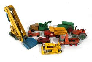 Construction Toys incl. Dinky and Matchbox