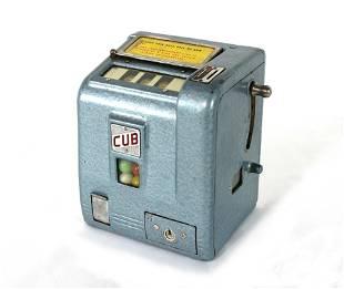 Cub Coin Operated Trade Stimulator Gum Vendor