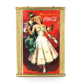 "Original Coca Cola ""Have a Coke"" Poster in Frame"