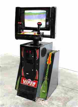 Leland Viper Arcade Game (1988) with Seat