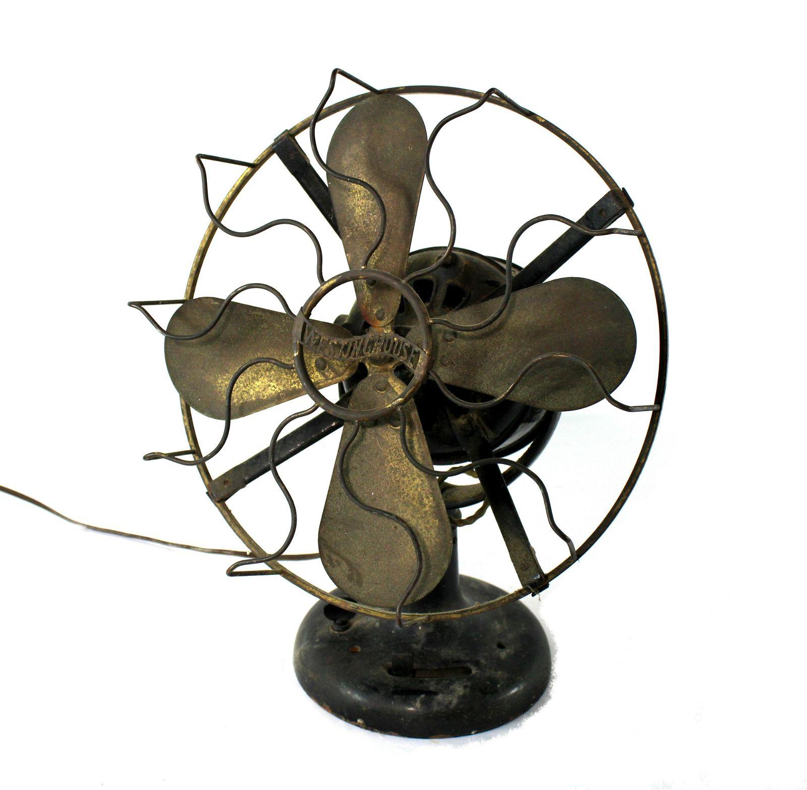 Westinghouse Brass Blade Fan
