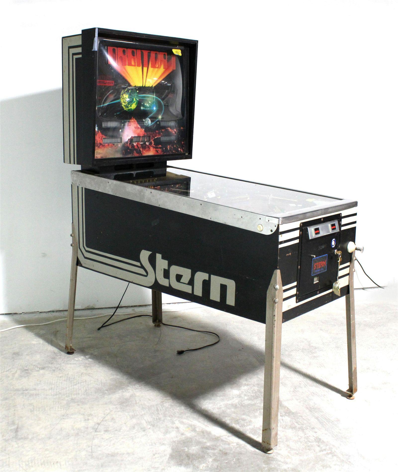 Stern Orbitor 1 Pinball Machine