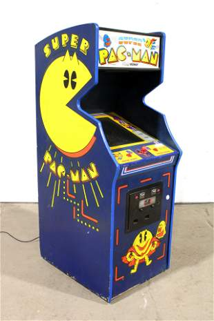 Bally Super Pac Man Arcade Game