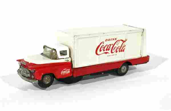 Allen Haddock Co. Coca Cola Tin Truck Toy