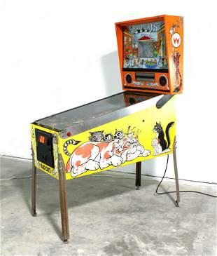 Williams Bad Cats Pinball Machine, Project