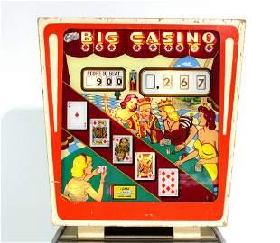 Gottlieb Big Casino Wedgehead Pinball Machine
