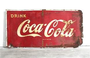 6FT Drink Coca Cola Metal Advertising Sign