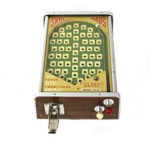 A.B.T. Mfg Co Skill Card Pinball Style Trade Stimulator