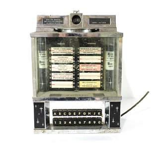 Wurlitzer Coin Operated Wallbox