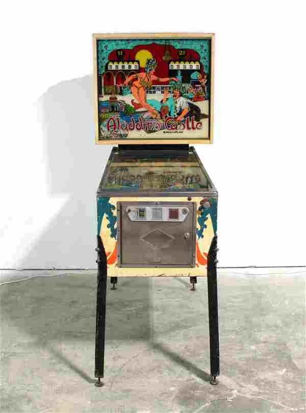 Bally Aladdin's Castle Pinball Machine