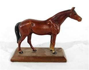 Hubley Cast Iron Horse Statue